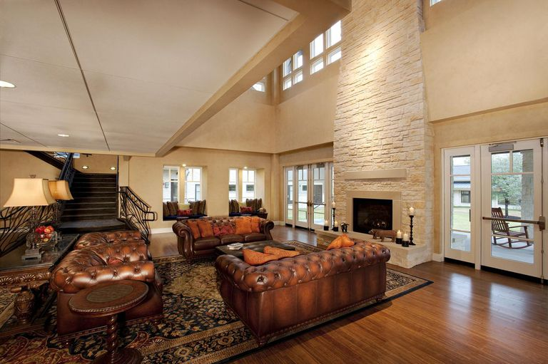 Interior of a Ronald McDonald House