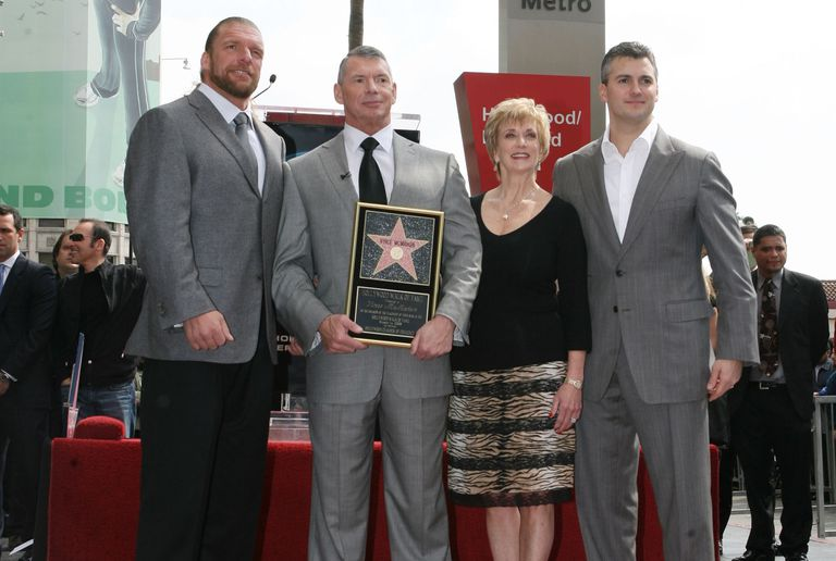 Vince McMahon hets a star on the Walk of Fame