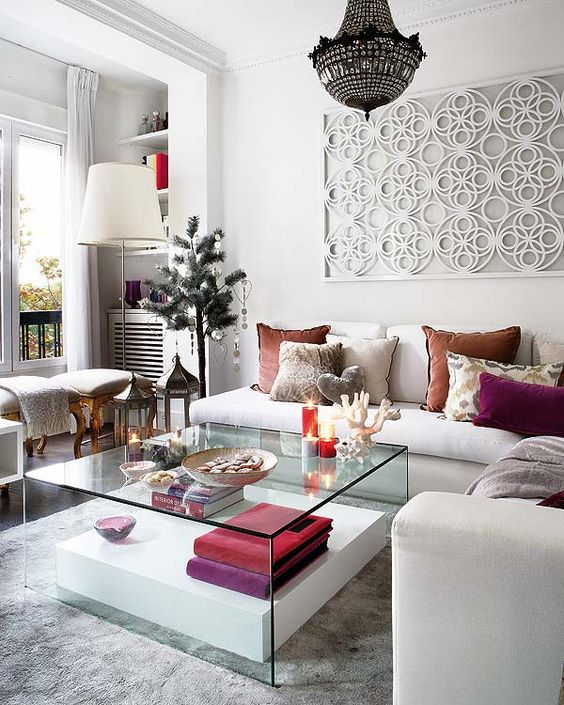 8 Fantastic Options For What To Put In Front Of Your Sofa
