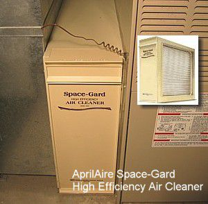 Replacing An Aprilaire Space Gard 2200 Furnace Filter