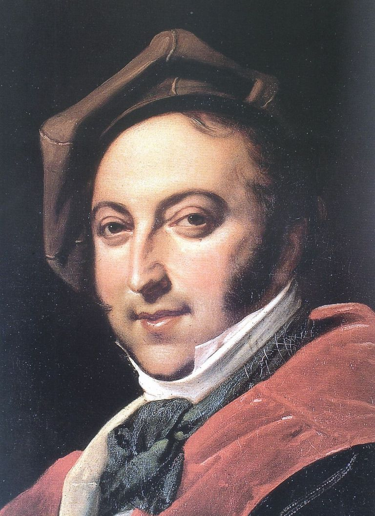 Portrait of Gioachino Rossini