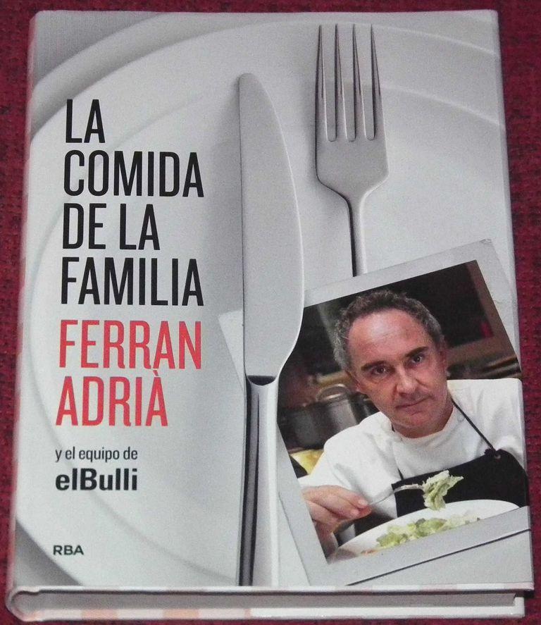 5 libros de cocina ligera y saludable recomendados for Ferran adria comida