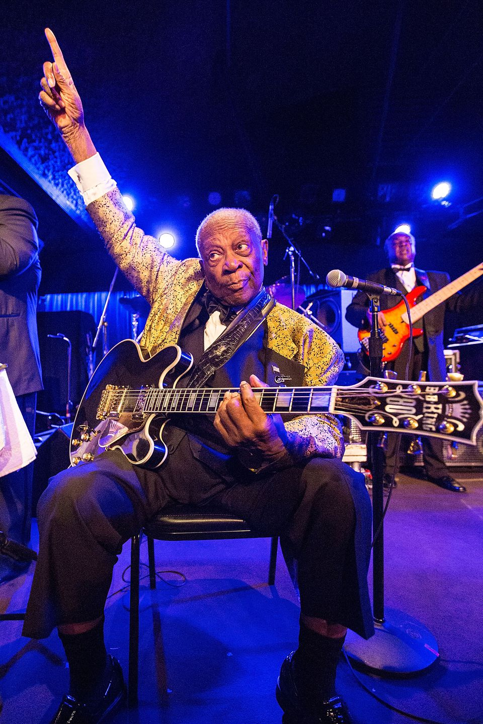 Blues legend B.B. King