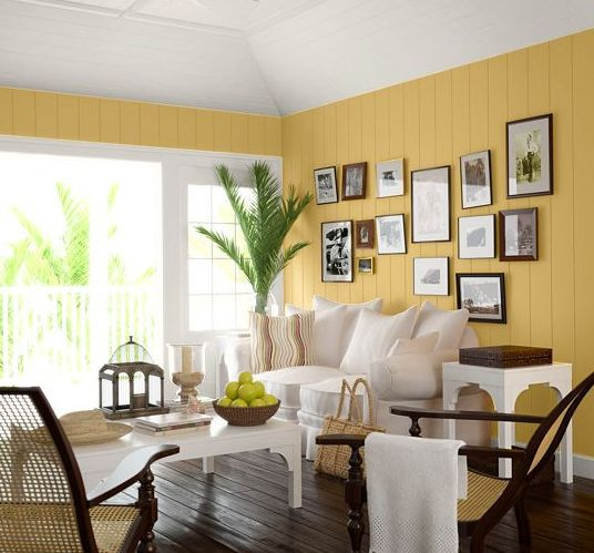 Colonial Home Design Ideas: Find Paint Color Inspiration For Your Living Room