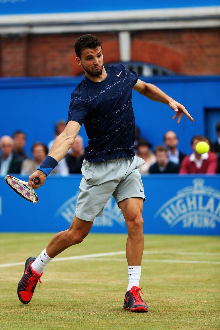 Photo of Grigor Dimitrov - Forehand Start of Swing
