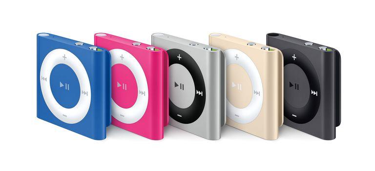 frozen iPod shuffle