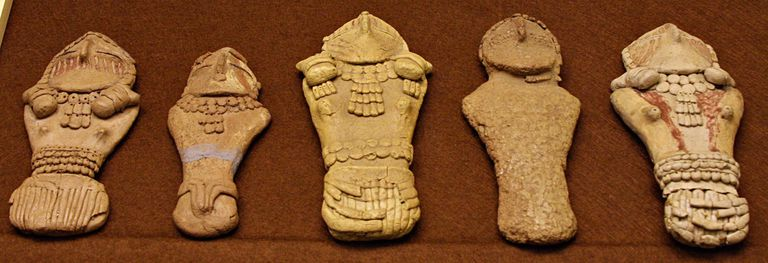 Fremont Figurines from Pilling Collection