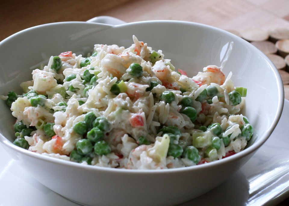 Shrimp Salad With Rice