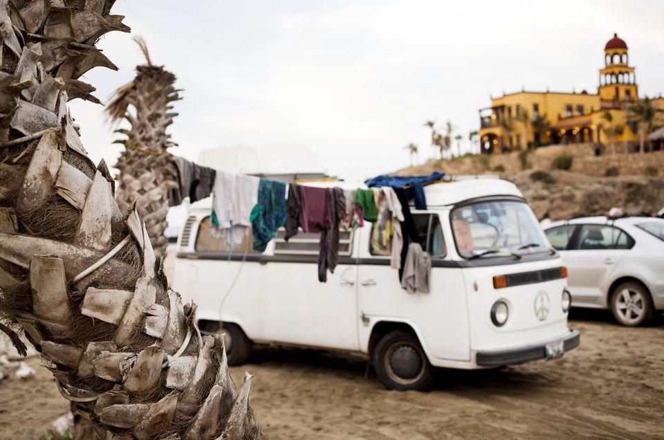Campervan in Mexico