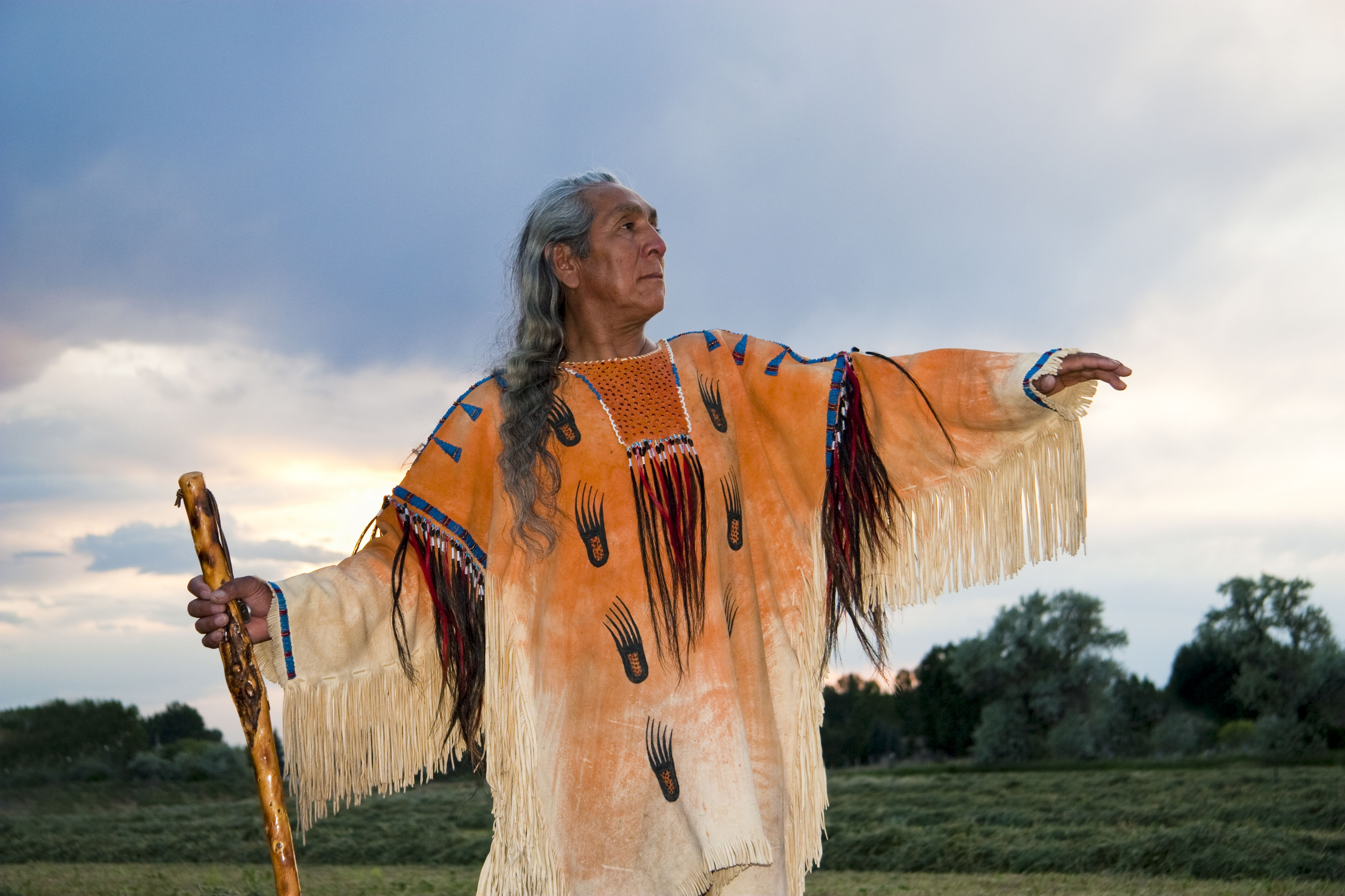 What are some inventions by native americans native american medicine man dressed in ghost shirt idaho usa sciox Image collections