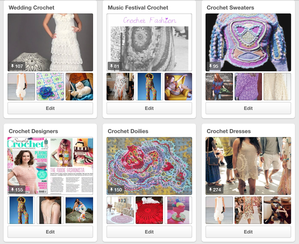 100+ Crochet Boards on Pinterest