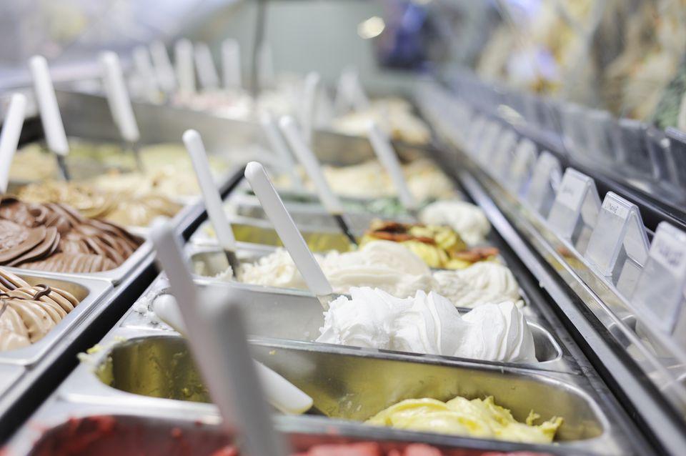 gelato at Frigidarium