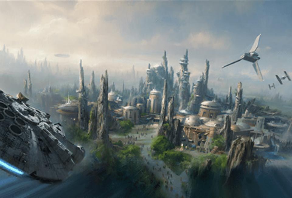 Star Wars themed lands at Disney World and Disneyland