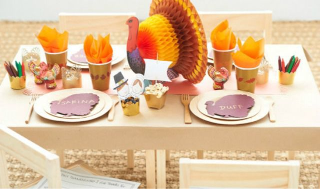 paper turkey decorations