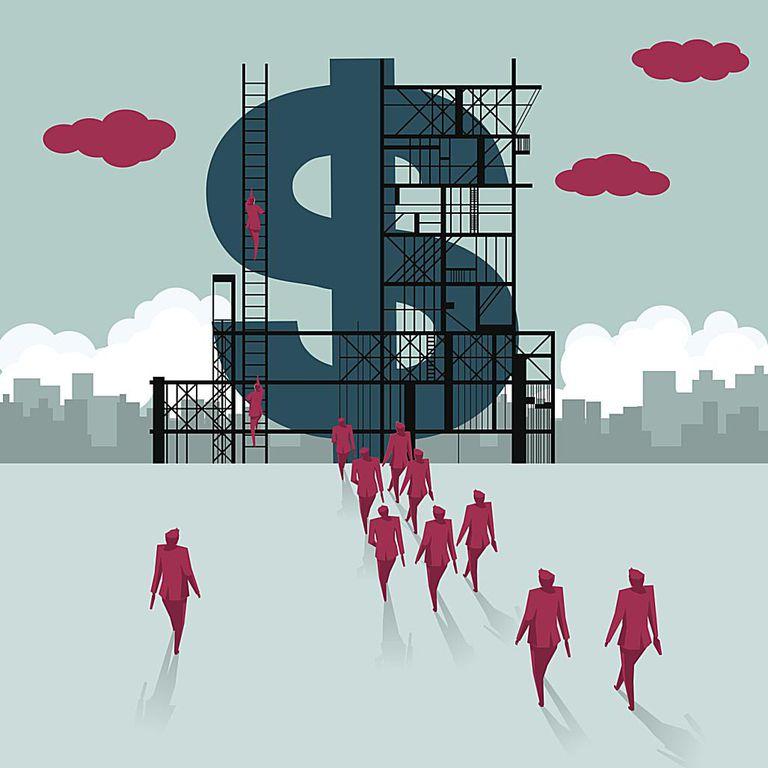 Building dat tower of money