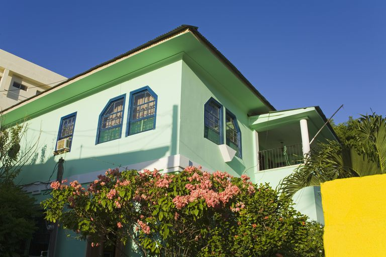 Green House Color Combinations