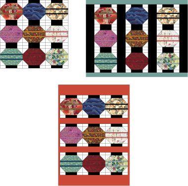 Lanterns Quilt Block Pattern : chinese lantern quilt pattern - Adamdwight.com