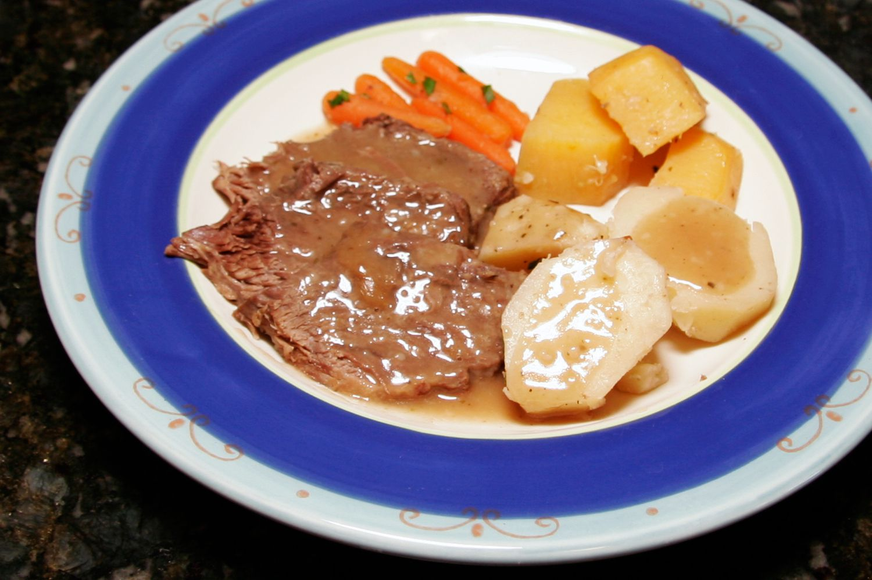 Old Fashioned Homemade Pork Roast