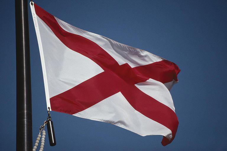 Alabama flag - Martin Helfer - SuperStock - GettyImages-128017939