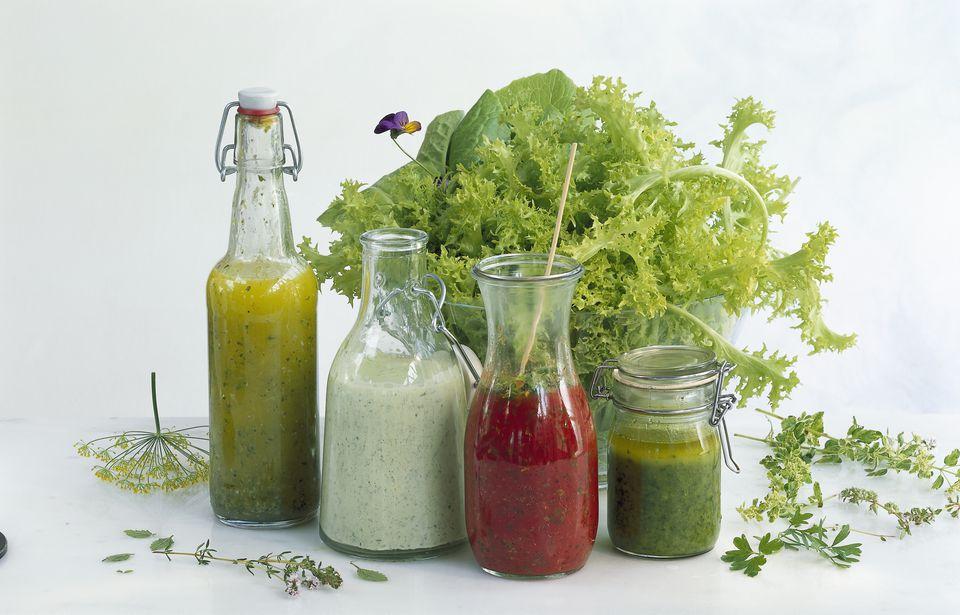 vinaigrette and salad dressings