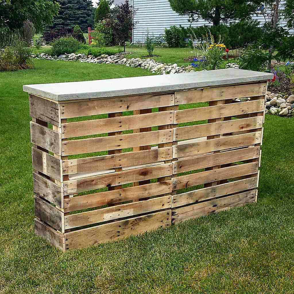free plans to help utilize extra unused pallets - Pallet Bar Plans