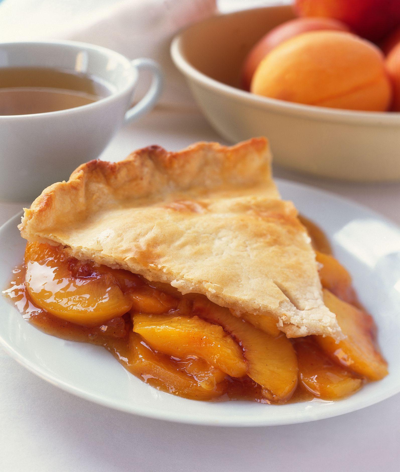 Dairy Free Vegan Peach Pie Recipe