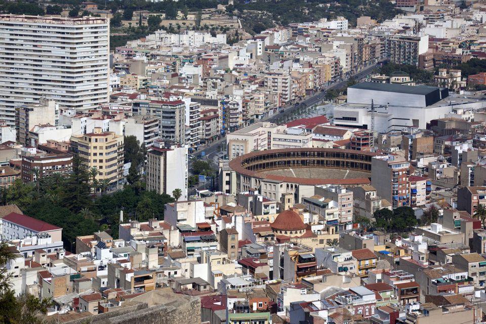 City of Alicante on the Costa Brava
