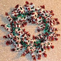 Candy Wreath Craft