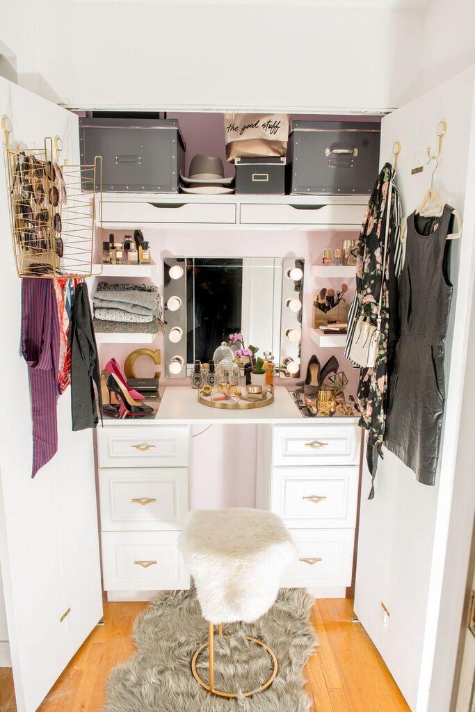 Custom closet makeover