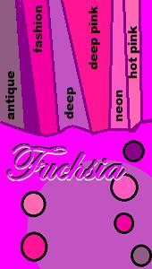 Fuschia / Magenta shades