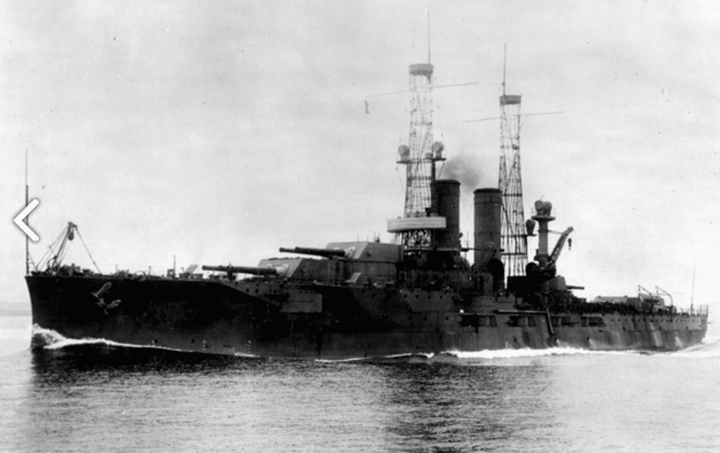 USS Utah (BB-31) in World War II