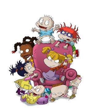 From Bottom Left Dil Pickles Kimi Finster Susie Carmichael Tommy Chuckie Angelica Lil DeVille Phil Nickelodeon