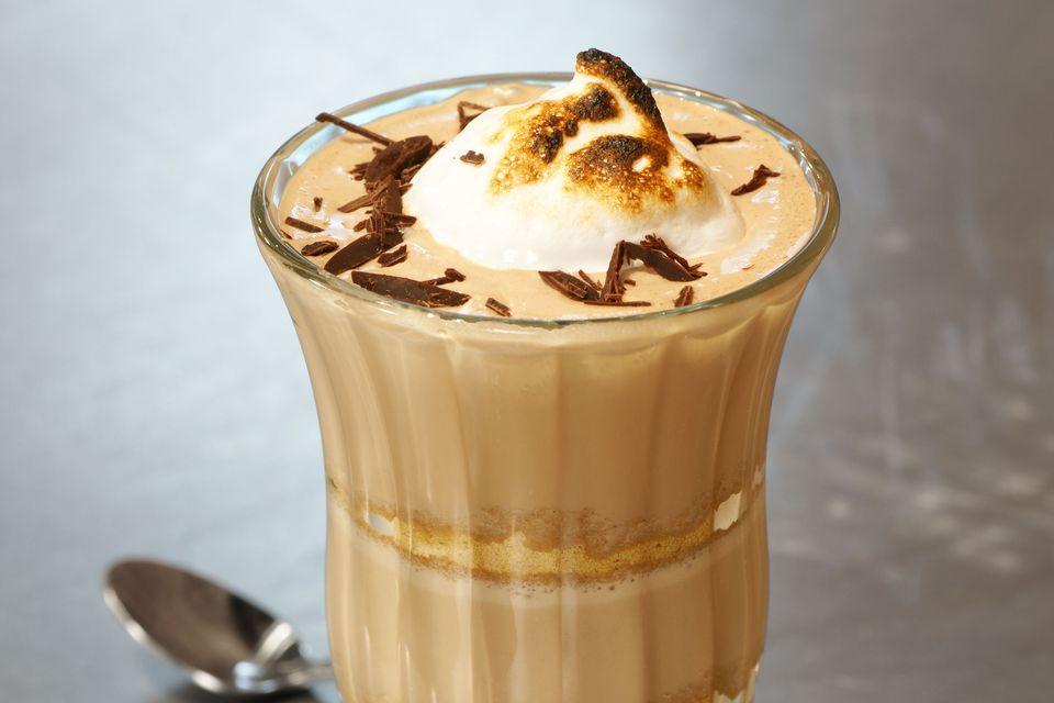 Boozy S'Mores Milkshake With Rumchata and Marshmallow Vodka