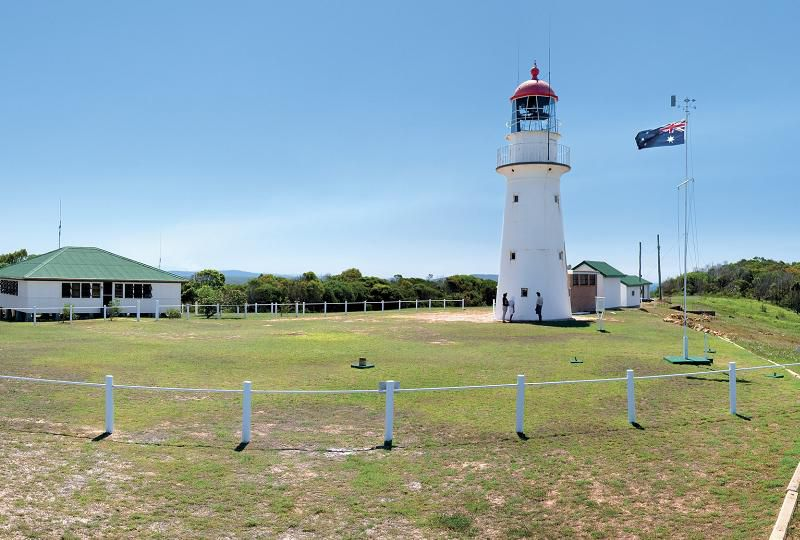 Bustard Head Lighthouse ... built in 1868 close to 1770