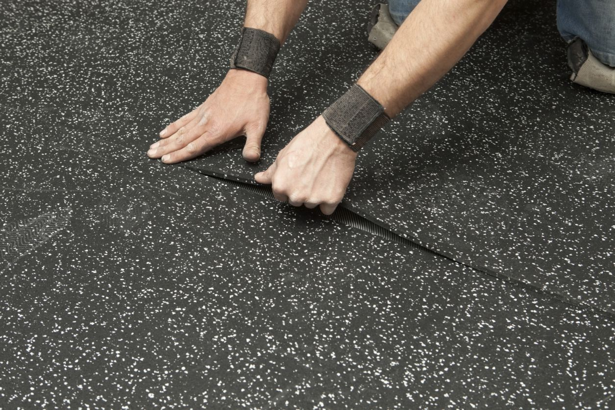 Ecologically friendly rubber flooring options dailygadgetfo Gallery