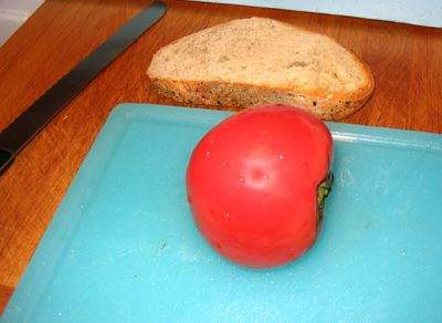 Ingredients for Pan con Tomate