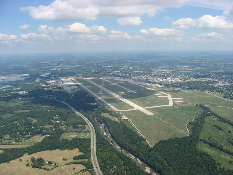 Wright-Patterson Airforce Base from above