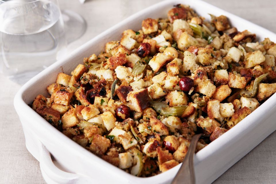 Simple holiday stuffing recipe