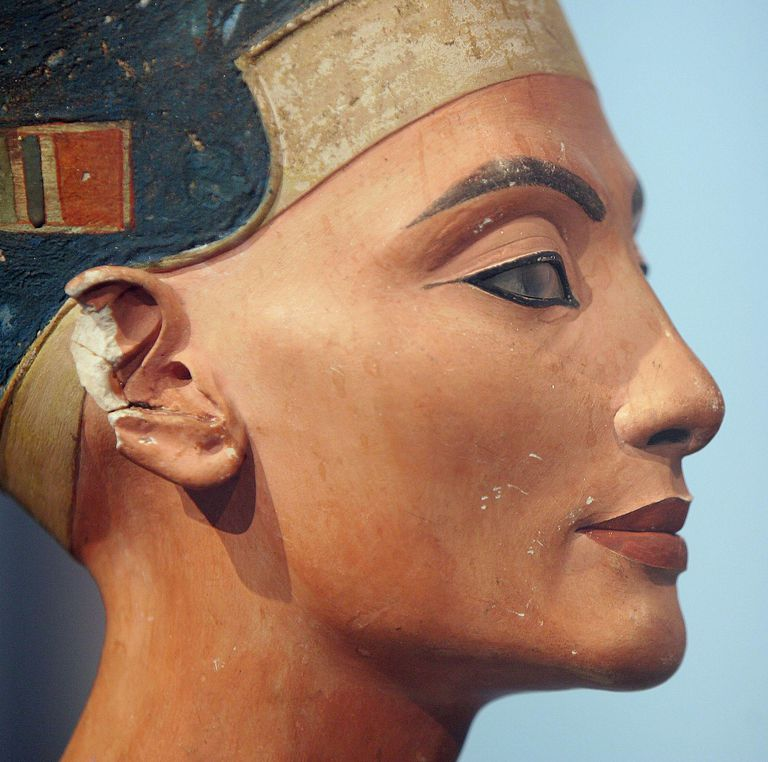 Nefertiti Bust at the Altes Museum