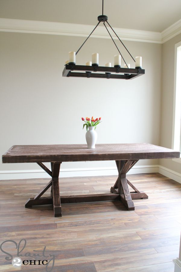 13 Free Dining Room Table Plans for Your Home