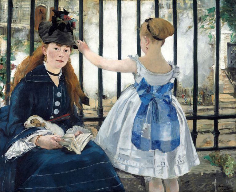 The Railway, by Edouard Manet