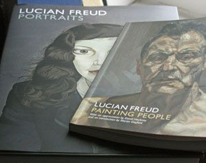 Lucian Freud Exhibition at the National Portrait Gallery in London