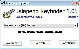 Jalapeno Keyfinder - Commercial Keyfinder Program