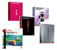 Get individual programs or choose one of the Adobe Creative Suite bundles.