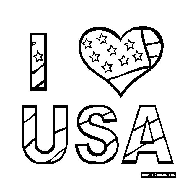257 Free, Printable 4th of July Coloring Pages