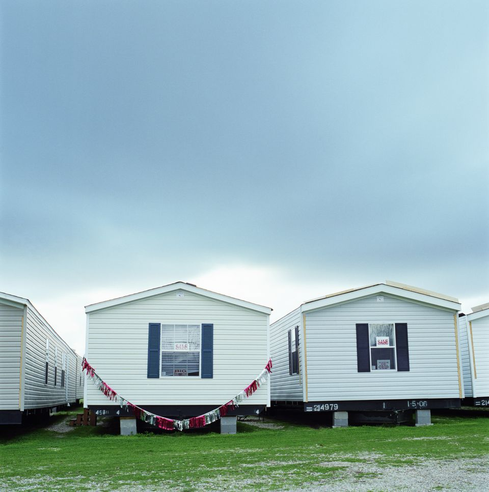 Manufactured Home Dealers Lot