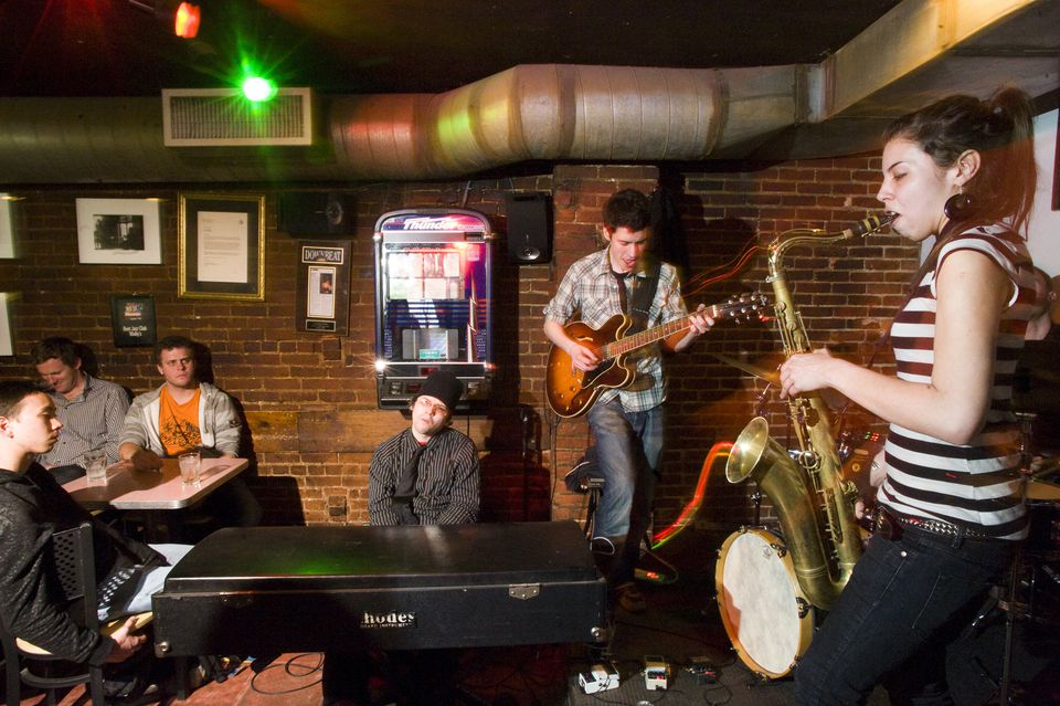 Jazz at Wally's in Boston
