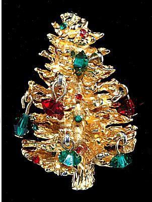 Accessocraft Christmas Tree Pin