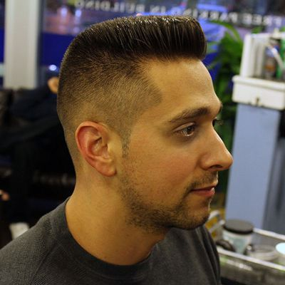 Barbershop Mens Haircuts The Flattop
