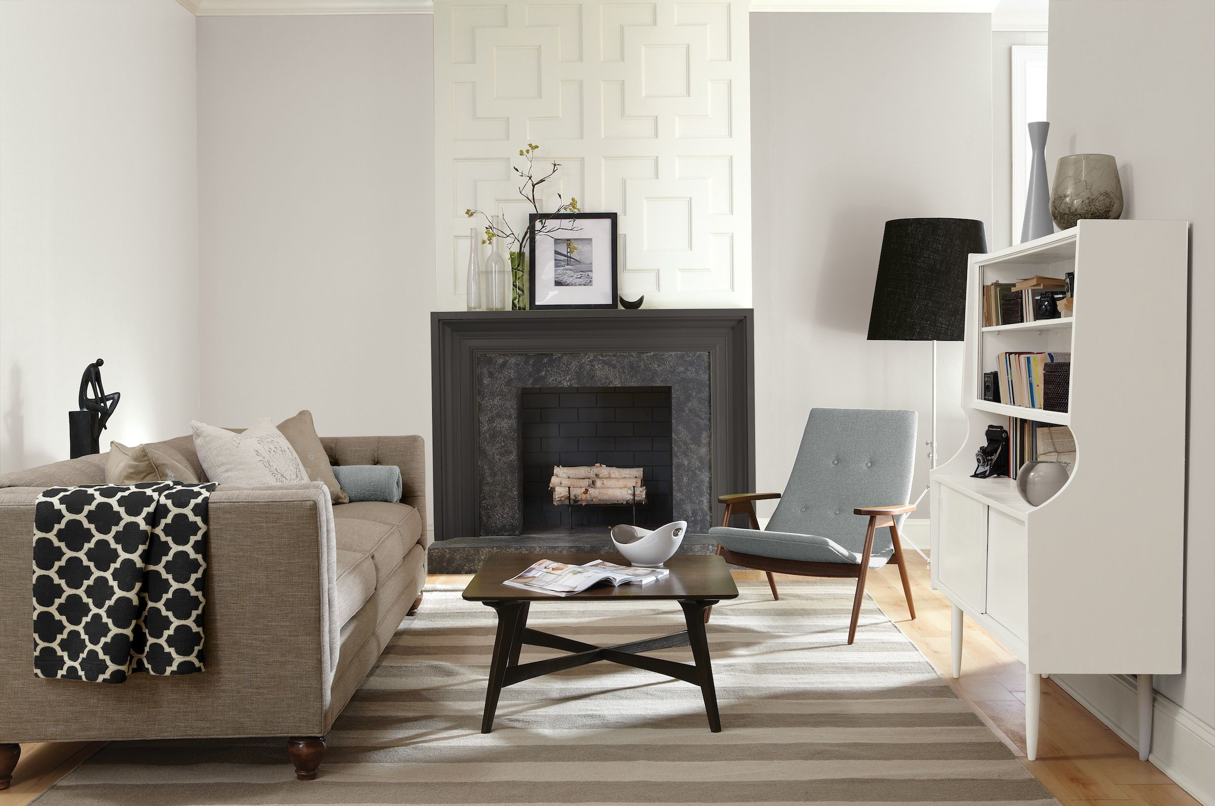 top 10 neutral paint colors for a new home - Color Paint For Living Room